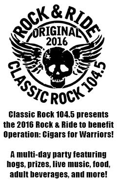2016 Classic Rock 104.5 Rock N Ride